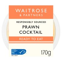 Waitrose prawn cocktail