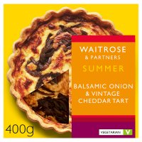 Waitrose Balsamic Onion West Country Cheddar Tarte