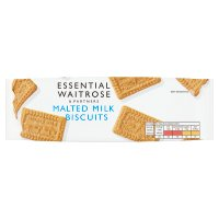 essential Waitrose malted milk biscuits