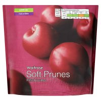 Waitrose soft prunes pitted