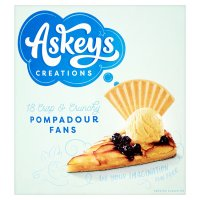 Askey's Luxury Fan Wafer Biscuits
