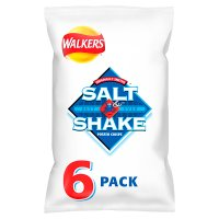 Walkers Salt & Shake plain multipack crisps