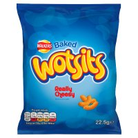 Wotsits really cheesy single crisps