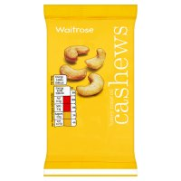 Waitrose honey roasted cashew nuts