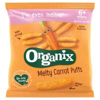 Organix organic carrot sticks - stage 2