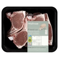Waitrose 8 hand cut Welsh lamb rack cutlets