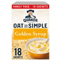 Quaker Oat So Simple golden syrup porridge 15S