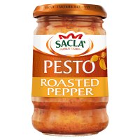Sacla roasted pepper pesto