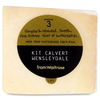 Waitrose Kit Calvert Wensleydale cheese, strength 3