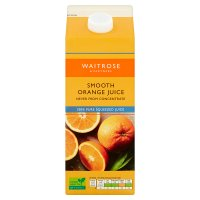 Waitrose smooth orange juice
