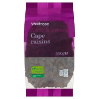 Waitrose Cape raisins