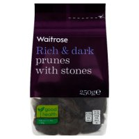 Waitrose dried stone in prunes