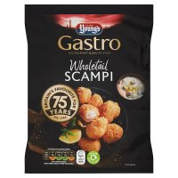Young's premium wholetail scampi