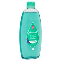 Johnson's baby no more tangles shampoo