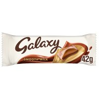 Galaxy milk chocolate single bar