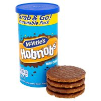 McVitie's milk chocolate hob-nobs