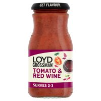 Loyd Grossman tomato & red wine sauce