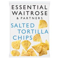 Waitrose salted tortilla chips