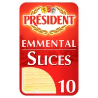 President emmental 10 slices