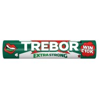 Trebor Extra Strong peppermint mints roll