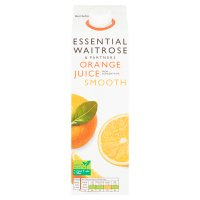 essential Waitrose smooth orange juice