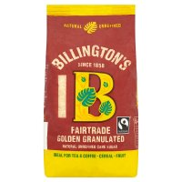 Billington's Fairtrade natural golden granulated sugar