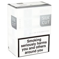 Silk Cut silver cigarettes