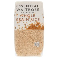 Waitrose LOVE life whole grain rice