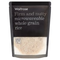 Waitrose whole grain microwaveable rice