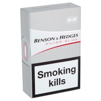 Benson & Hedges king size silver
