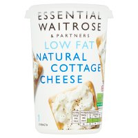 essential Waitrose natural cottage cheese 1.5%&nbsp;image