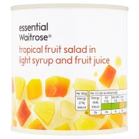 Waitrose essential Tropical Fruit Salad
