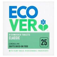 Image of Ecover ecological dishwasher tablets, 25 tablets