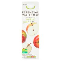 Essential Waitrose apple juice