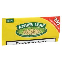 Amber Leaf tobacco & 50 papers