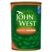 John West wild red salmon image