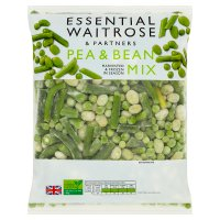 essential Waitrose pea & bean mix