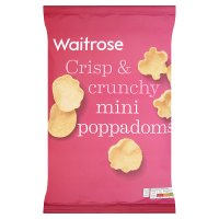 Waitrose mini poppadoms