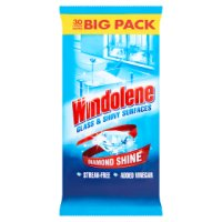 Windolene Wipes 4 action system