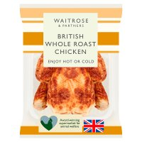 Waitrose British whole roast chicken