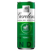 Gordon's & Schweppes tonic water