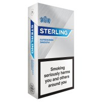 Sterling superkings smooth cigarettes