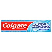Colgate Sensation deep clean whitening toothpaste