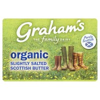 Graham's Scottish organic slightly salted butter