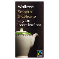 Waitrose Ceylon leaf tea