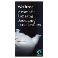 Waitrose Lapsang leaf tea