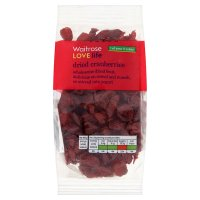 Waitrose LOVE life dried cranberries