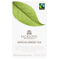 Jacksons sencha green tea 20 tea sachets