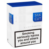 Silk Cut blue cigarettes
