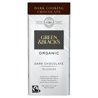 Green & Black 72% Organic Dark Cooks' Chocolate